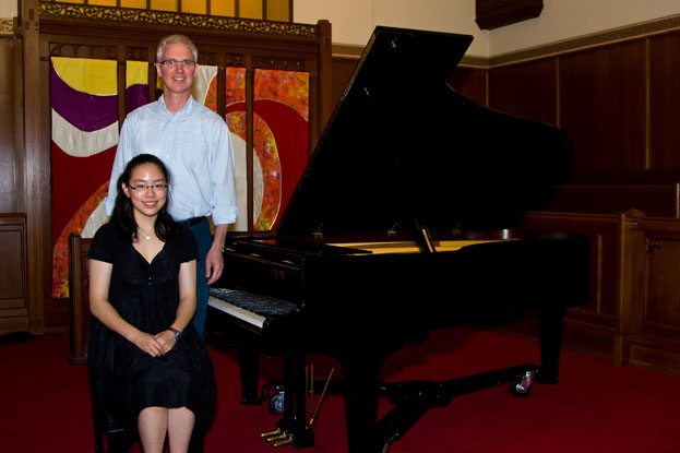 Nicole Linaksita, winner and scholarship recipient of the Intermediate Canadian Piano and runner-up in the Intermediate Piano at the Performing Arts BC 2009 competition